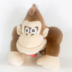 Super Mario All Star Collection Donkey Kong plush